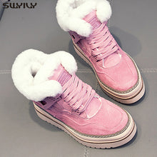 Load image into Gallery viewer, Women's Winter Fashion Casual Shoes