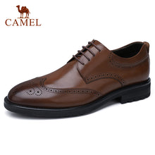 Load image into Gallery viewer, CAMEL Brock Men's Genuine Leather Shoes