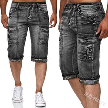Load image into Gallery viewer, Lugentolo Knee Length Men's Jeans