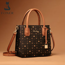 Load image into Gallery viewer, FOXER Signature Ladies Retro Shoulder Bags