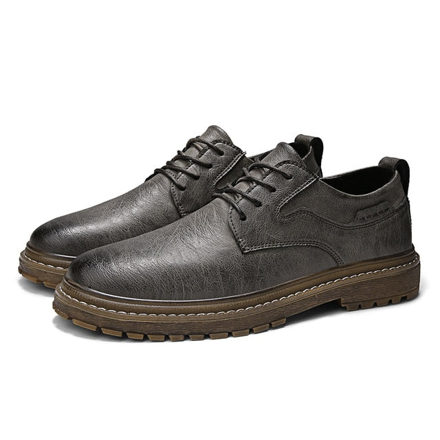 Soft Handmade Men's Leather Casual Shoes
