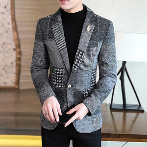 Men's Stylish Woolen Blazer