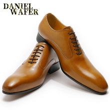 Load image into Gallery viewer, Oxford Formal Leather Shoes for Men