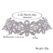 Load image into Gallery viewer, Luxury Crystal Rhinestone Collar Chocker for Women