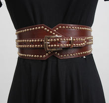 Load image into Gallery viewer, Women's Studded PUNK Belt