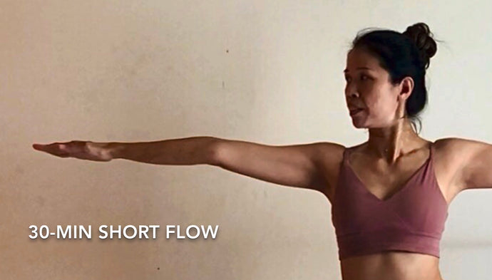 30-min short flow with inversion at the end