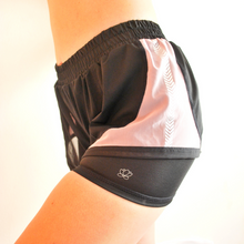 Load image into Gallery viewer, ROXY Double Layer Shorts - Black & Mauve
