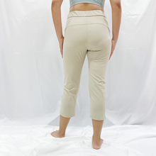 Load image into Gallery viewer, SERA Drawstring Relax Fit Leggings - Khaki