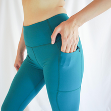 Load image into Gallery viewer, BIANCA Leggings - Emerald Green