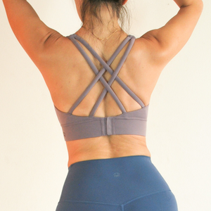 LUSH Series: X-Back Hook Bra - Lilac
