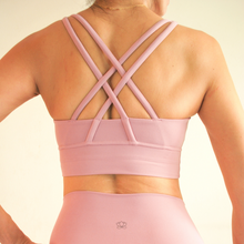 Load image into Gallery viewer, LUSH Series: X-Back 2.0 Bra - Taffy Pink
