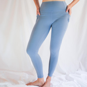 BIANCA Leggings - Powder Blue