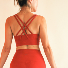 Load image into Gallery viewer, LUSH Series: X-Back 2.0 Bra - Crimson