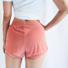 Load image into Gallery viewer, ROXY Double Layer Shorts - Coral