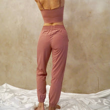Load image into Gallery viewer, VENUS Relax Fit Pants: Dusty Rose