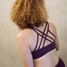 Load image into Gallery viewer, ACTIV Capri Bra: Violet