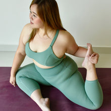 Load image into Gallery viewer, ACTIV Capri Bra: Tea Green