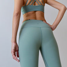 Load image into Gallery viewer, ACTIV Capri Leggings: Tea Green