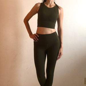 SCULPT Leggings: Olive