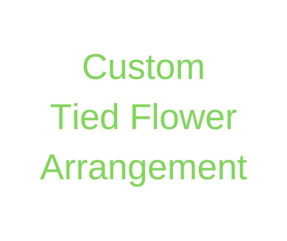Custom Silk Flower Arrangement.