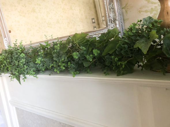 fake greenery garland