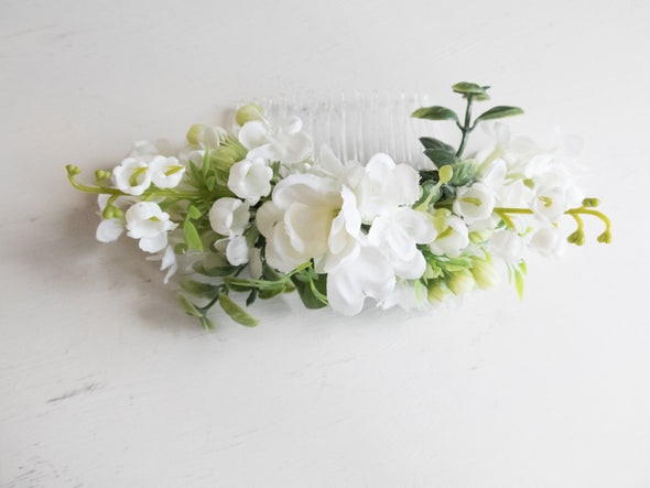 lily of the valley hair flowers