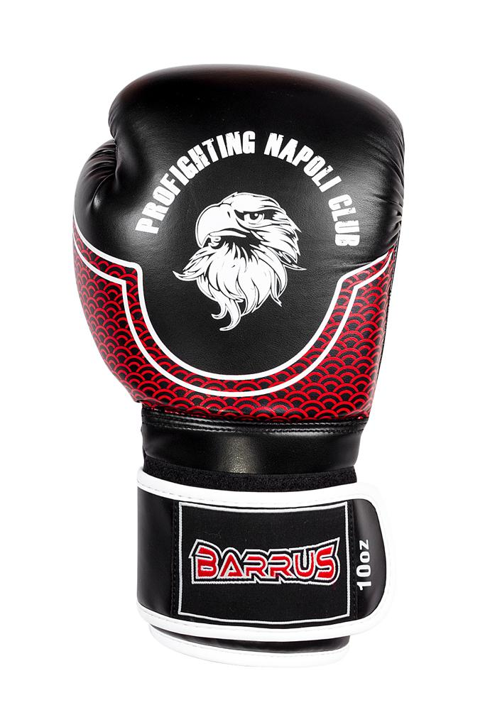 BOXING GLOVES - PFNC  - BLACK/BORDEAUX