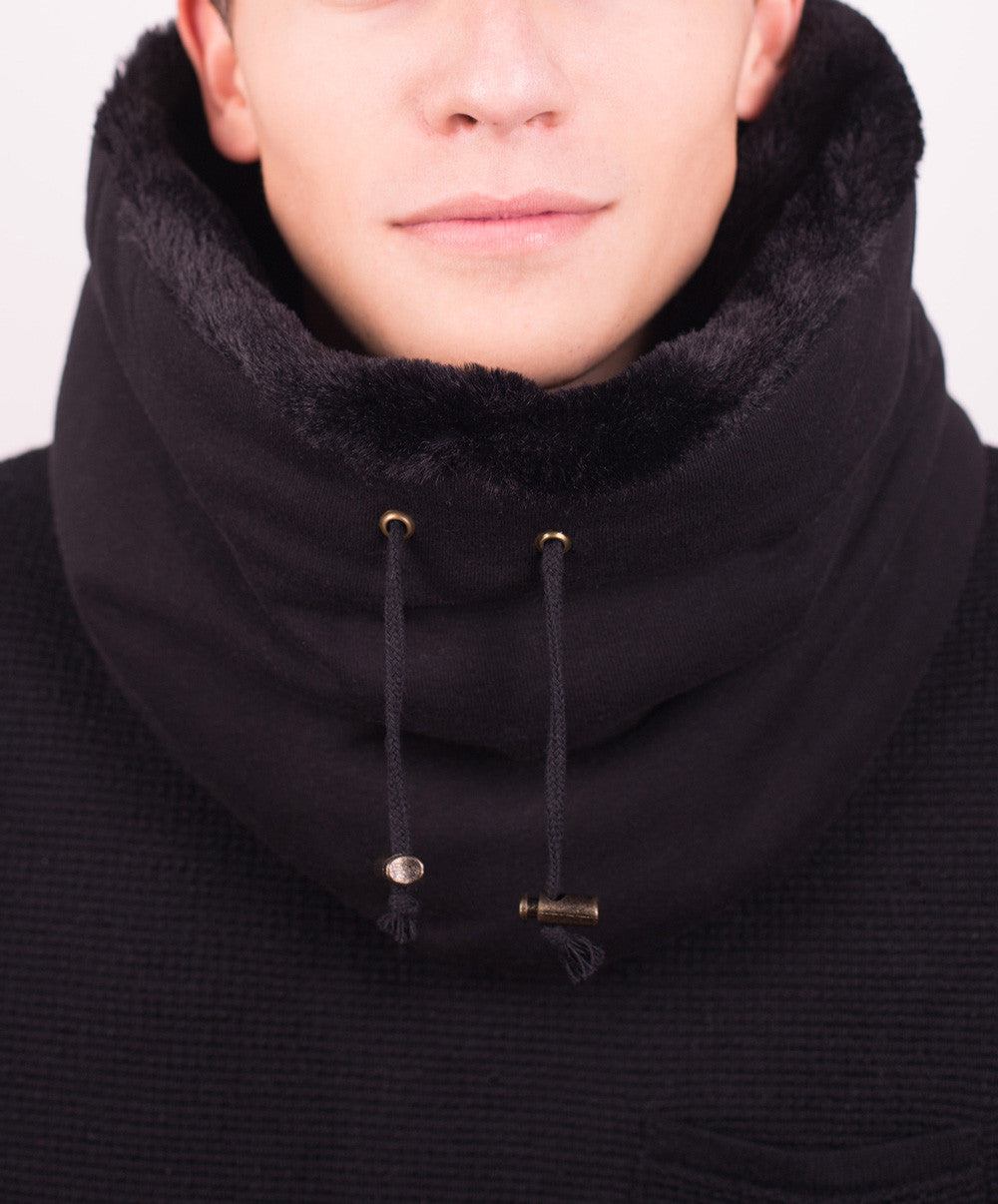 Black Snug Scarf