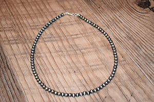 "18"" 5mm Navajo Pearls"