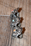 Single Stone Concho Ring