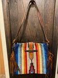 Belted Tote Cross Body