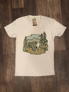 Buffalo & Mountains Tee