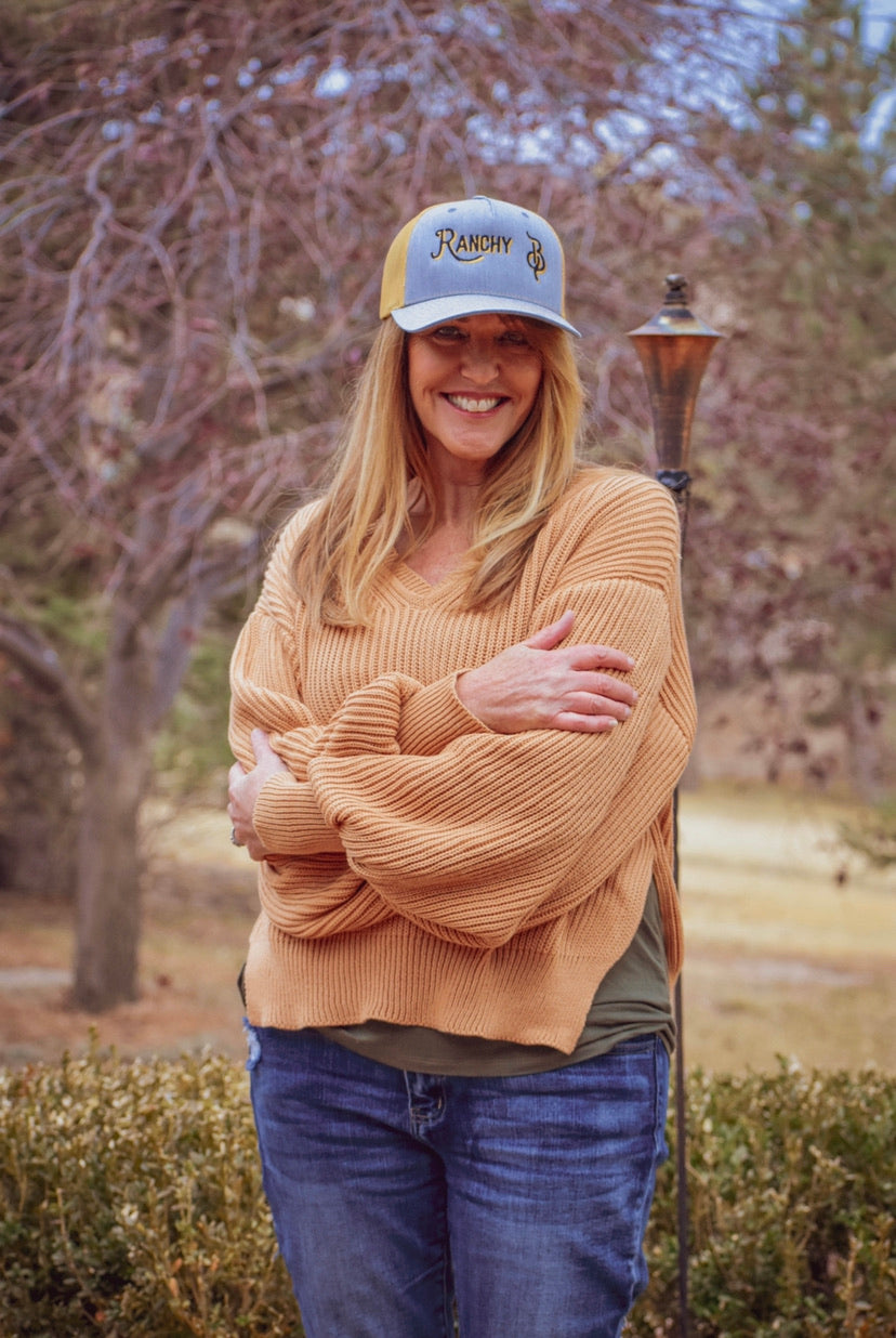 Mustard Knitted Sweater