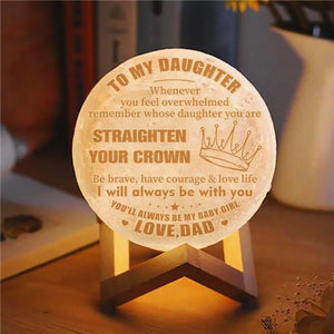Dad To Daughter - Straighten Your Crown - Moon Light🌕