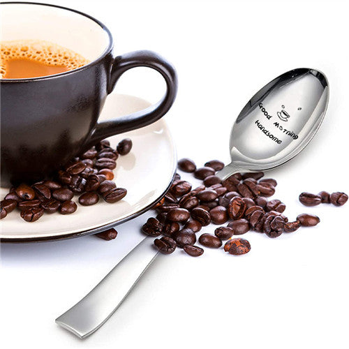 Good Morning Handsome - Engraved Spoon