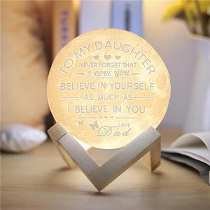 Dad To Daughter - Believe In Yourself- Moon Light