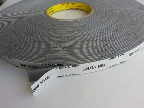 BULK SAVINGS - Large (33 metre) Rolls of VHB Adhesive Tape - RP45 & RP62
