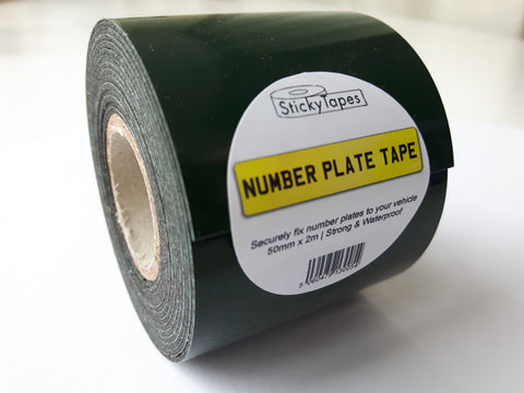 Number Plate Tape