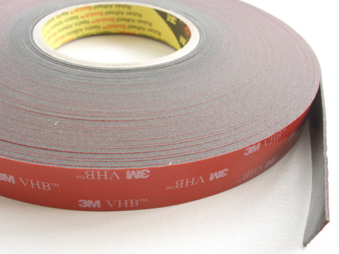 3M VHB 4611F Double Sided Acrylic Foam Tape - high tack