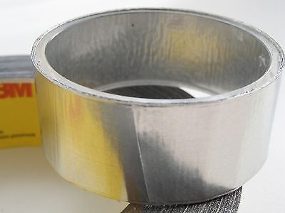 30 metres of 3M 425 ALUMINIUM ADHESIVE FOIL an indoor & outdoor DIY sealant tape