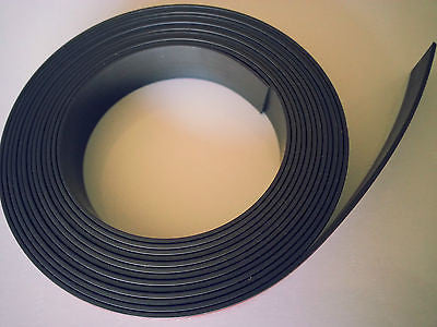 Premium Self Adhesive Magnetic Tape Strip - for Fridge Magnet Board Metal Sign