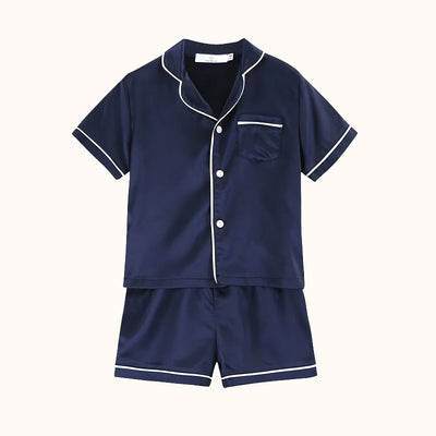 Kids Pyjama Set Navy