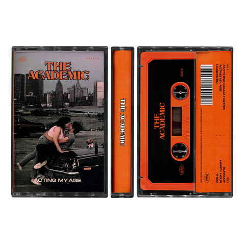 ACTING MY AGE ORANGE CASSETTE + DIGITAL EP