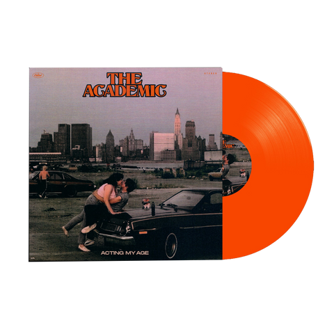 ACTING MY AGE TRANSLUCENT ORANGE VINYL + DIGITAL EP