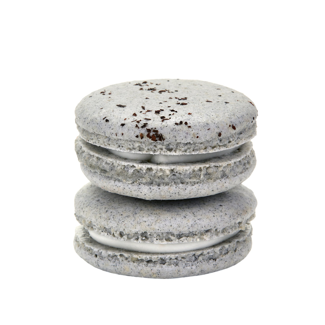 Plant Based Vegan Earl Grey Macarons