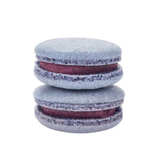 Load image into Gallery viewer, plant based vegan blueberry macaron