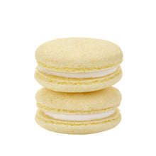 Load image into Gallery viewer, Plant Based Vegan Lemon Macarons
