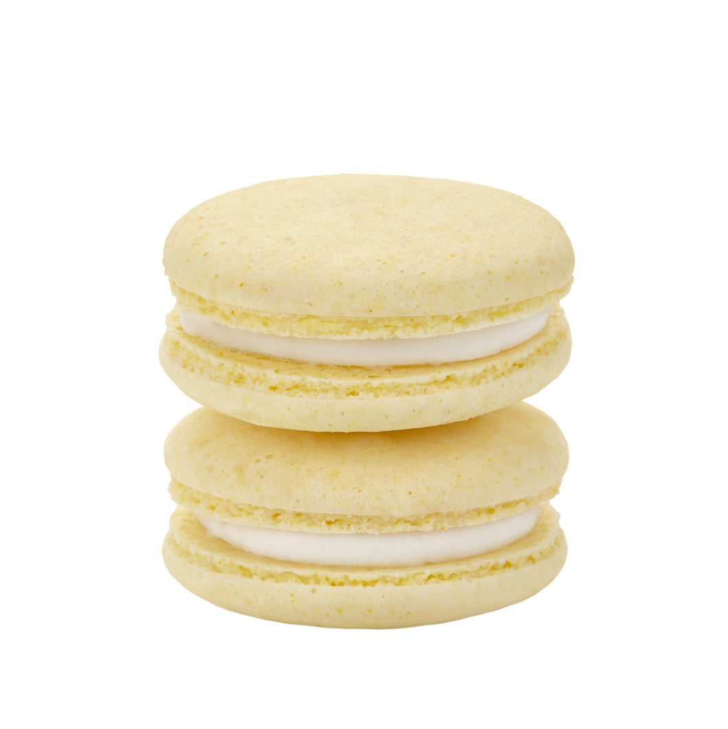 Plant Based Vegan Lemon Macarons