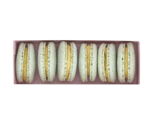Load image into Gallery viewer, Plant Based Vegan Pistachio Macarons