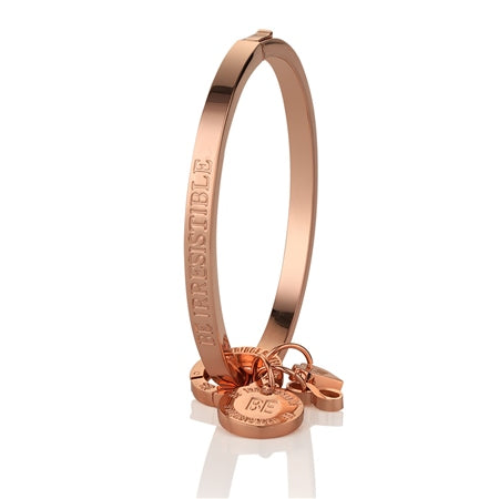 NEWBRIDGE BE IRRESISTIBLE ROSE GOLD BANGLE